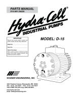 D15 coolant pump parts manual