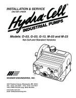 M03 coolant pump installation, operation and maintaince manual